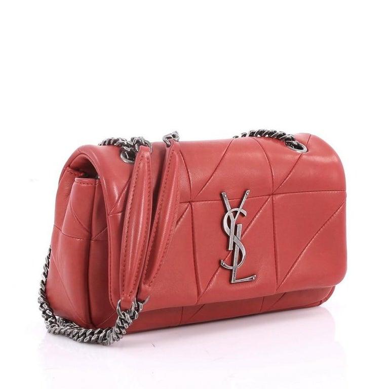 Saint Laurent Monogram Jamie Flap Bag Quilted Leather