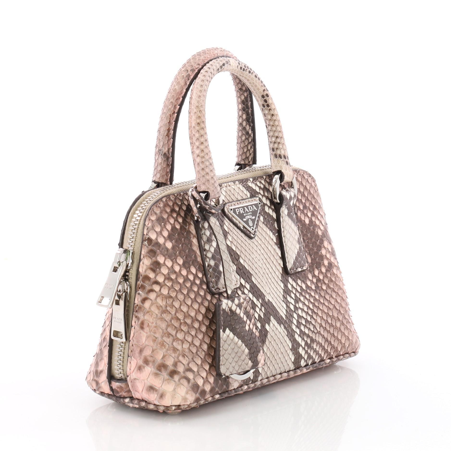 d599459ca4c5 Prada Promenade Handbag Python Mini at 1stdibs