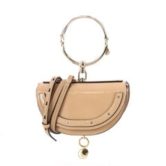 Chloe Nile Crossbody Bag Patent Mini