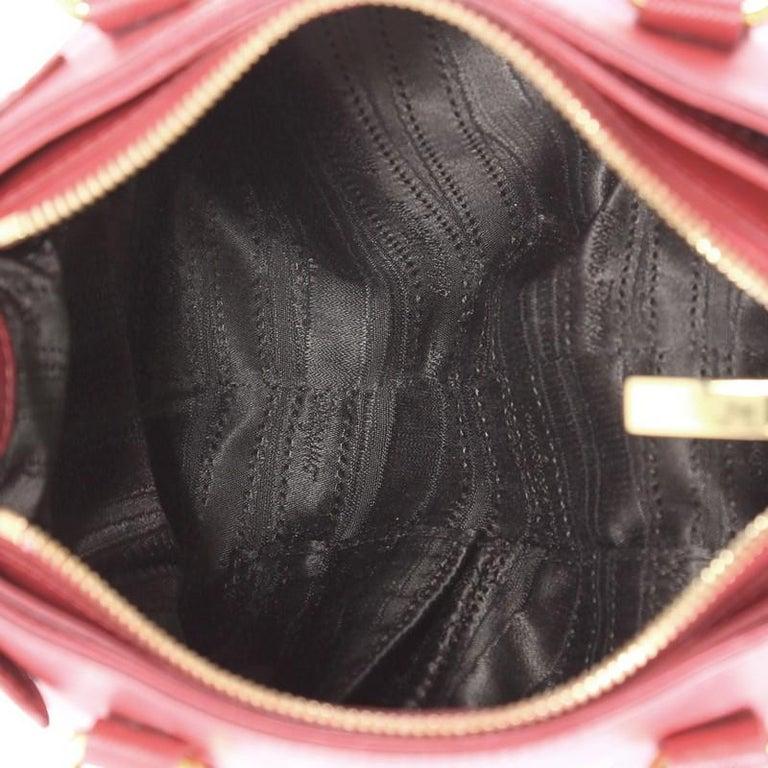 77079d14fe13 Salvatore Ferragamo Batik Convertible Satchel Saffiano Leather Mini For  Sale 1