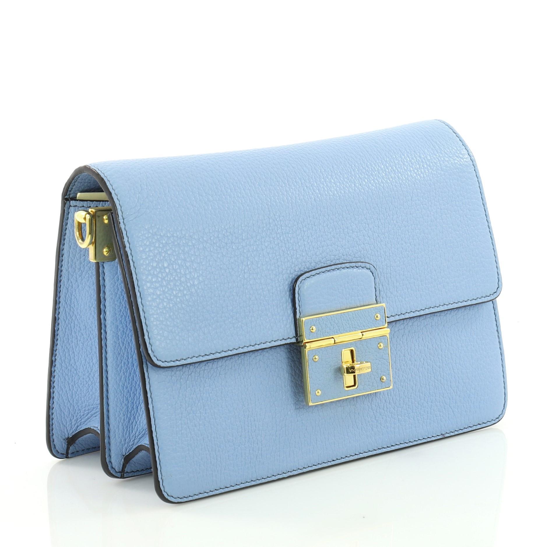 0b8c7c3f6c Dolce and Gabbana Rosalia Shoulder Bag Leather at 1stdibs