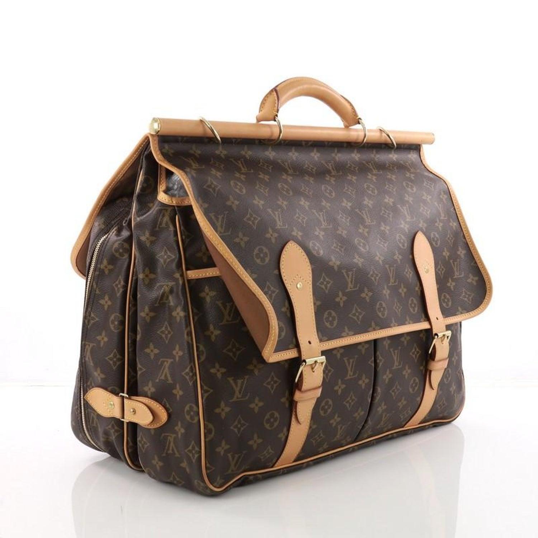 b6b297ad Louis Vuitton Sac Chasse Hunting Bag Monogram Canvas