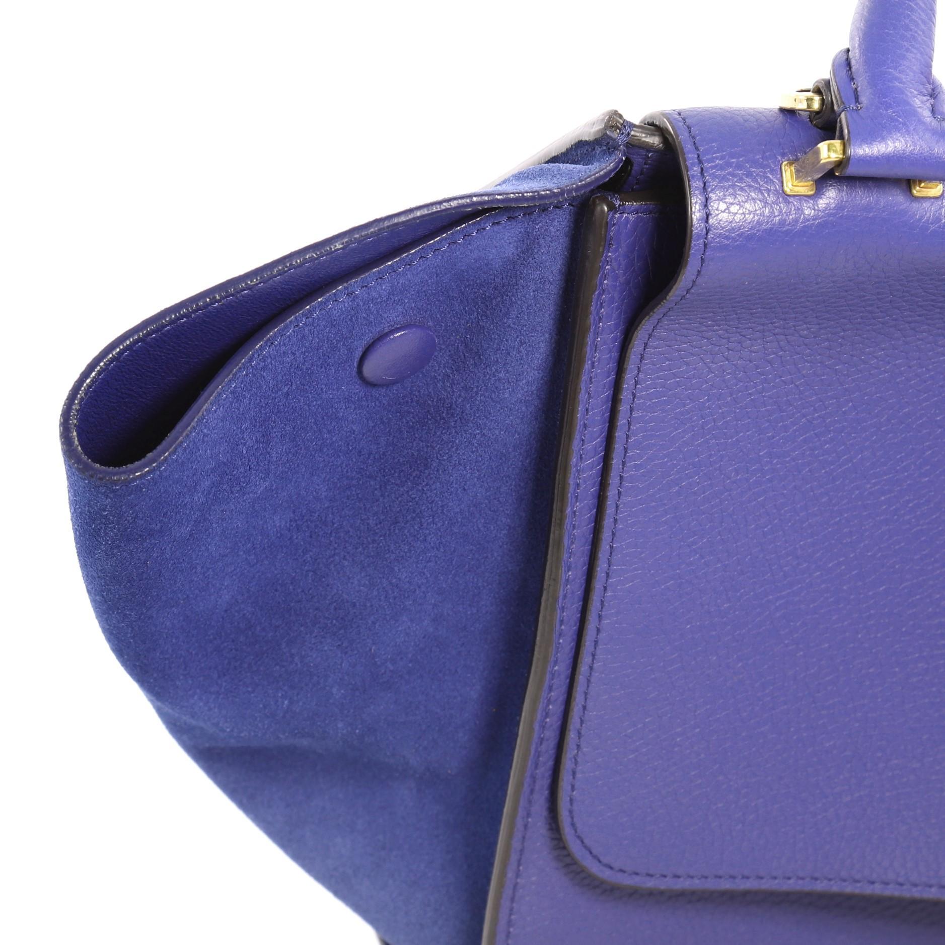 eb72989cf1a2 Celine Trapeze Handbag Leather Small at 1stdibs