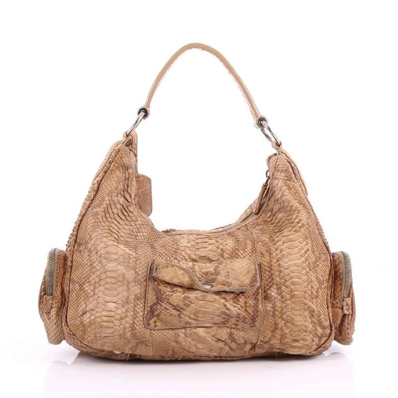 fe1552c779d1 Prada Pocket Shoulder Bag Python Medium at 1stdibs
