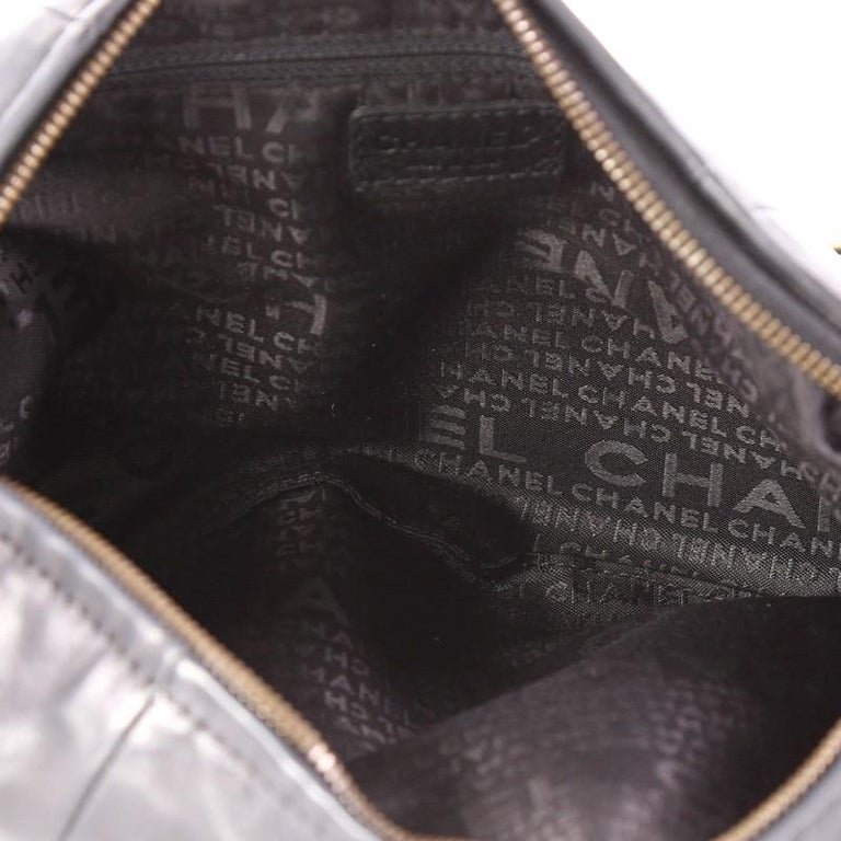 d71d86f97f0b Chanel Chain Link Strap Hobo Lambskin Large For Sale 1