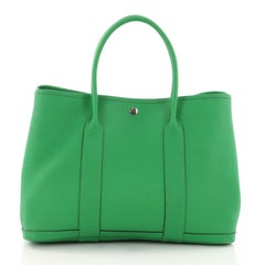 Hermes Quadrige Garden Party Tote Leather 36