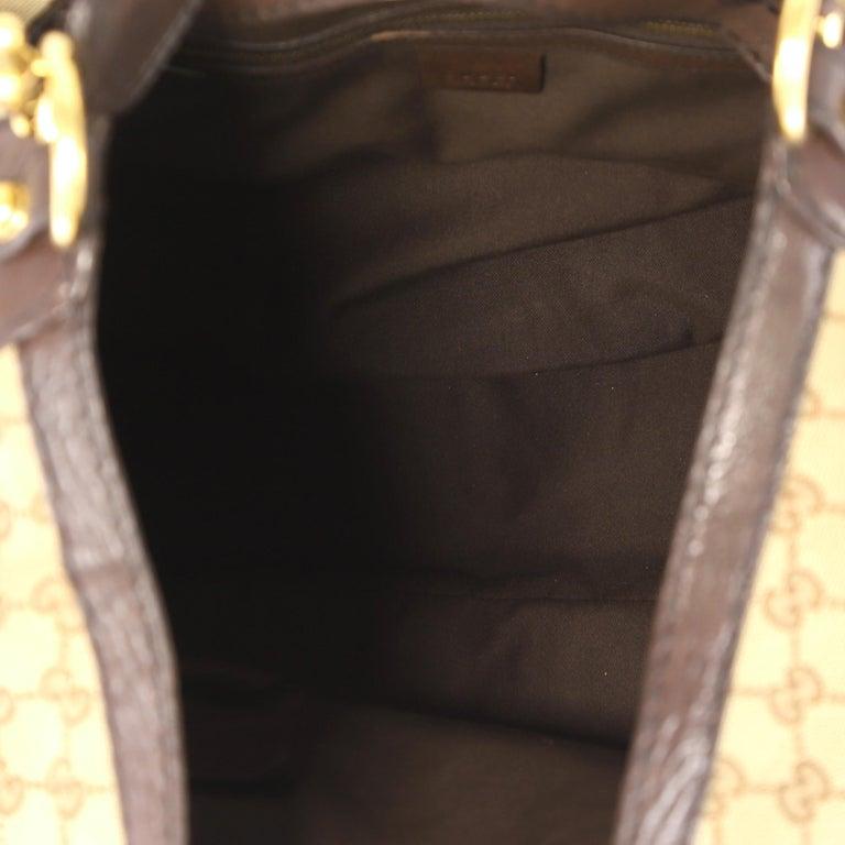 5438587fb5de Gucci Horsebit Hobo GG Canvas Large For Sale 1