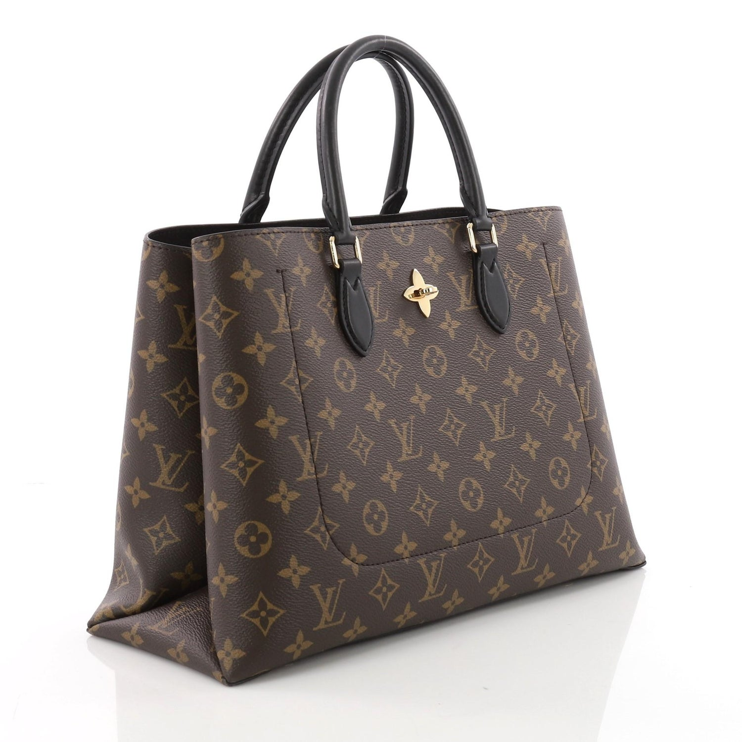 74969b3f937be Louis Vuitton Flower Tote Monogram Canvas at 1stdibs