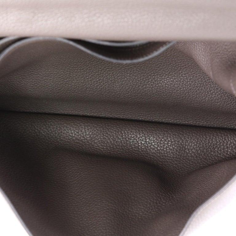 724edd978461 Hermes Sac a Depeche Handbag Clemence 41 For Sale at 1stdibs
