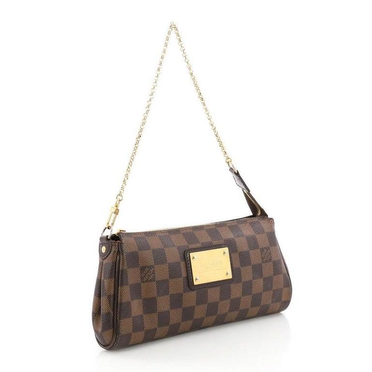 fe9f246fa Black Louis Vuitton Eva Crossbody Damier For Sale