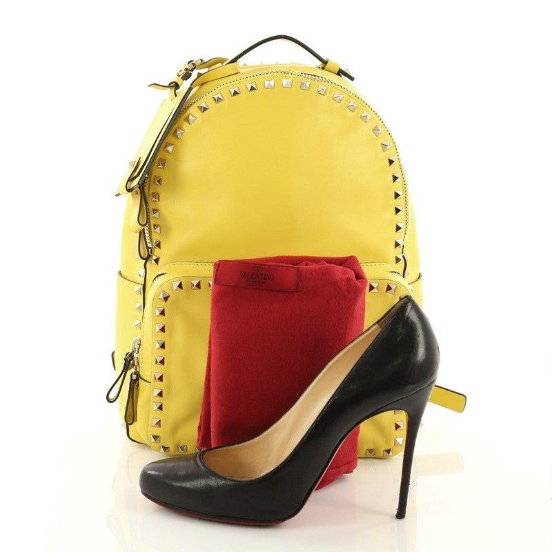 3591ad455692 Valentino Rockstud Backpack Leather Medium at 1stdibs