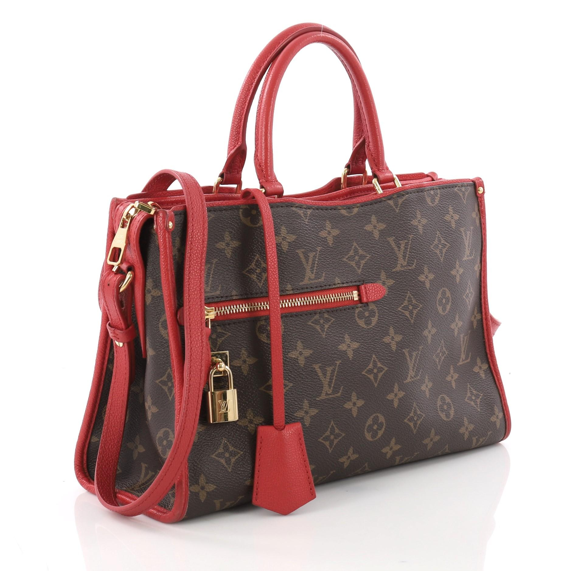 d093e8aa4f25 Louis Vuitton Popincourt NM Handbag Monogram Canvas PM at 1stdibs