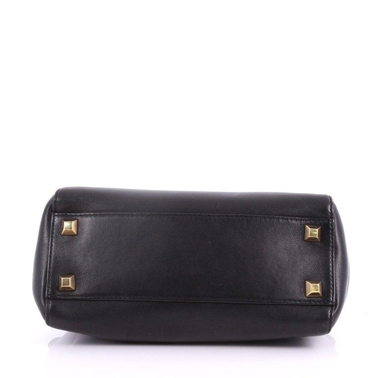 4298cfa0dce8 Women s or Men s Fendi Peekaboo Handbag Leather with Studded Detail Mini  For Sale
