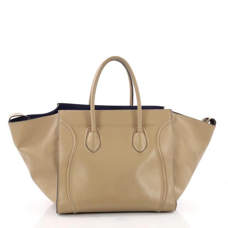 007e9bddff3a Celine Phantom Handbag Smooth Leather Medium For Sale at 1stdibs