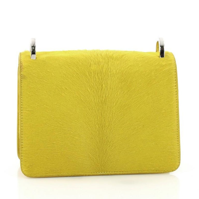01a76850eba Christian Dior Diorama Club Flap Bag Calf Hair Small In Good Condition For  Sale In New