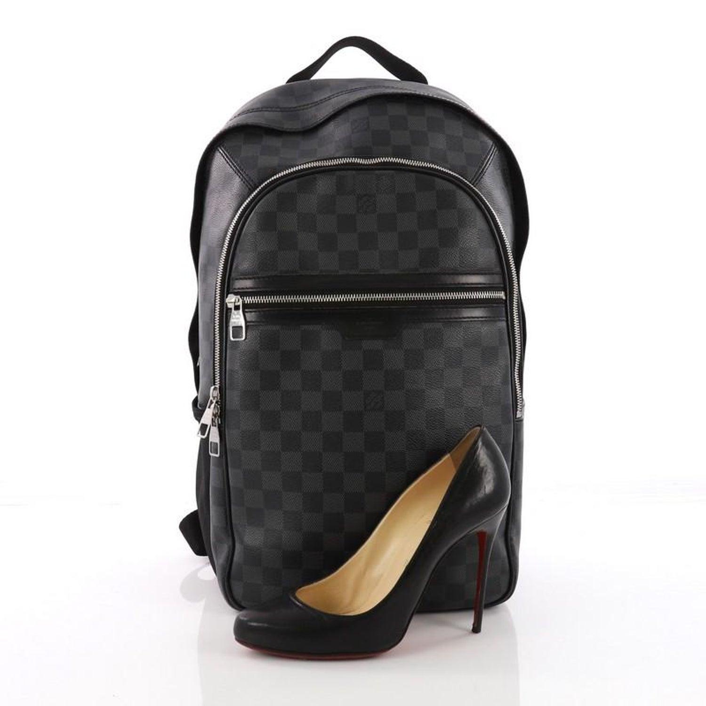 9f90b8056d2f lvdamier-back · louis vuitton michael damier backpack .