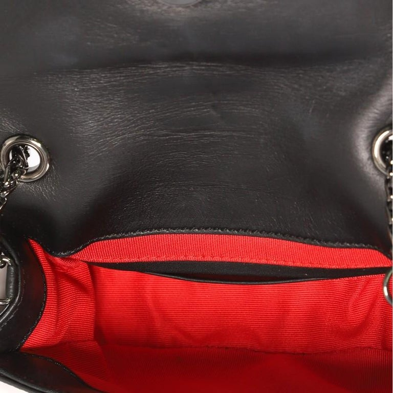 Christian Louboutin Sweet Charity Crossbody Bag Printed Leather Mini For Sale 1