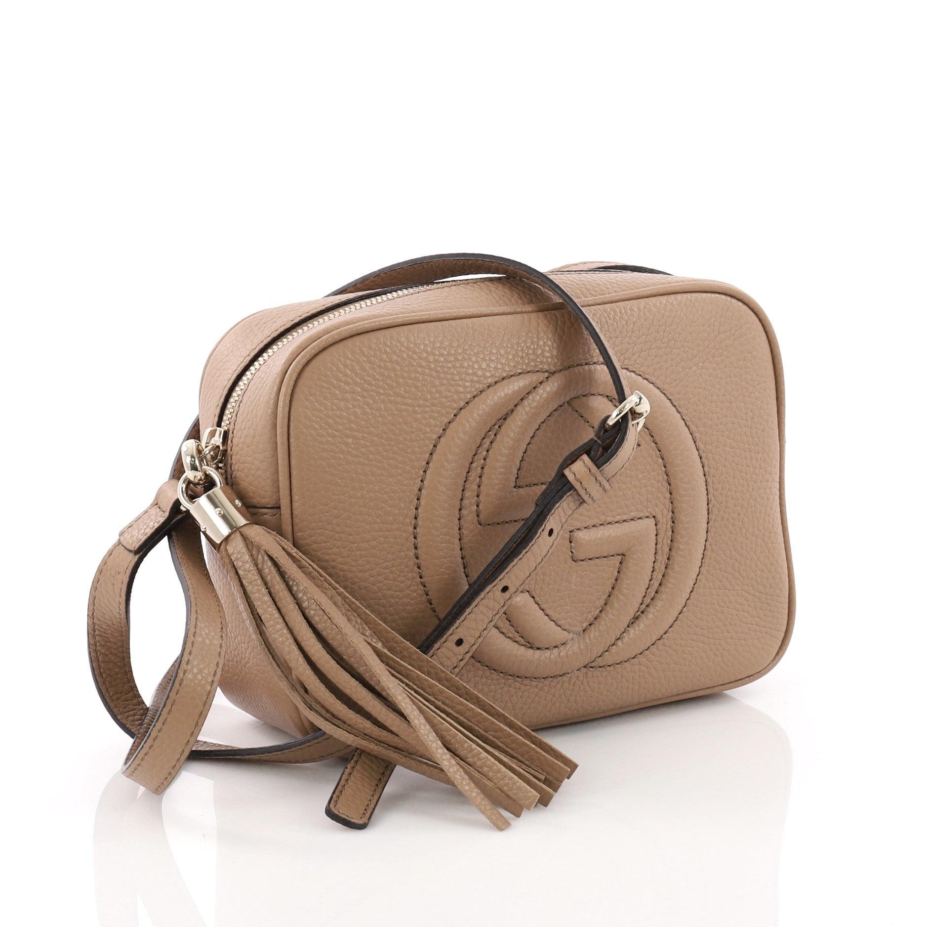 5fabca82918 Gucci Soho Disco Crossbody Bag Leather Small at 1stdibs