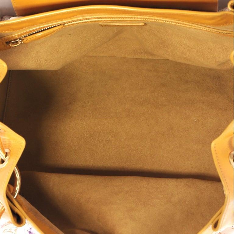 Louis Vuitton Jamais Handbag Limited Edition Aquarelle Monogram Canvas For Sale 1