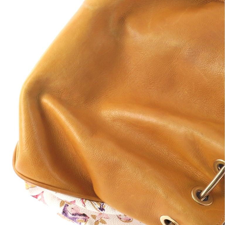 Louis Vuitton Jamais Handbag Limited Edition Aquarelle Monogram Canvas For Sale 3