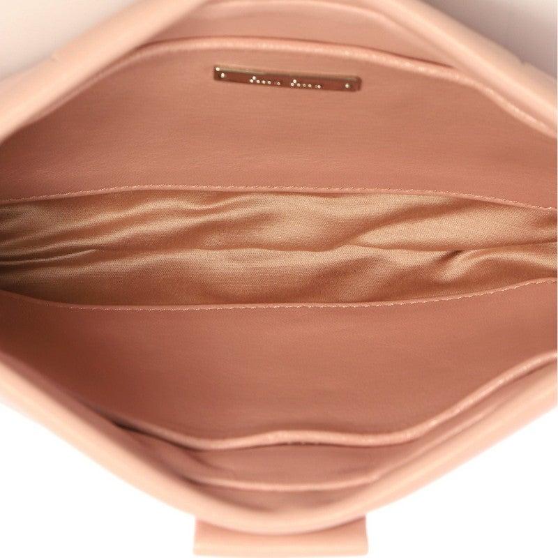 bb2c01f1340 Miu Miu Pearl Clutch Pleated Leather Medium at 1stdibs