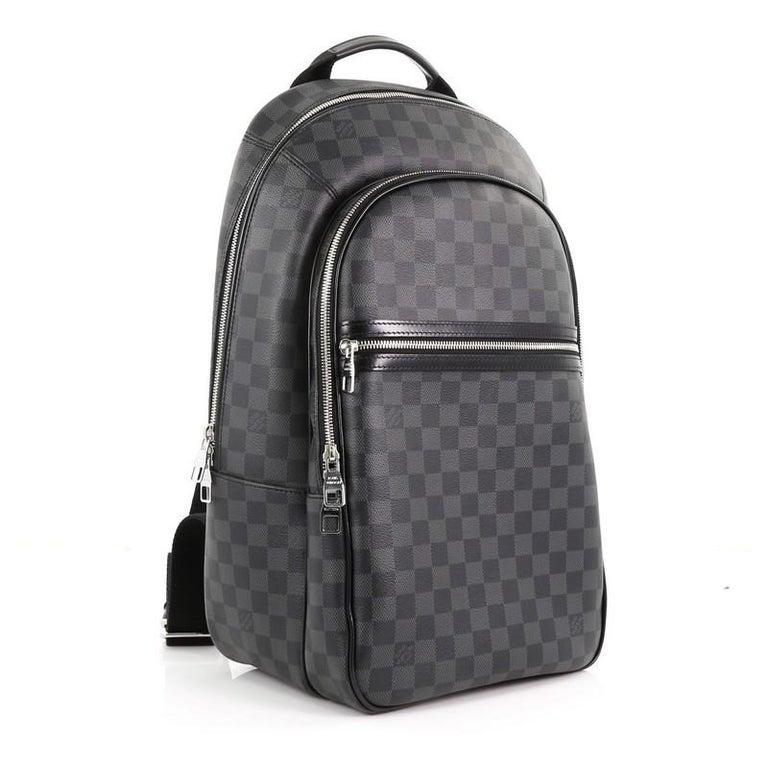 763fa88d09d Black Louis Vuitton Michael NM Backpack Damier Graphite For Sale