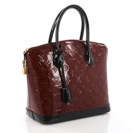 db6a9ee41061 Louis Vuitton Lockit Handbag Monogram Vernis PM at 1stdibs