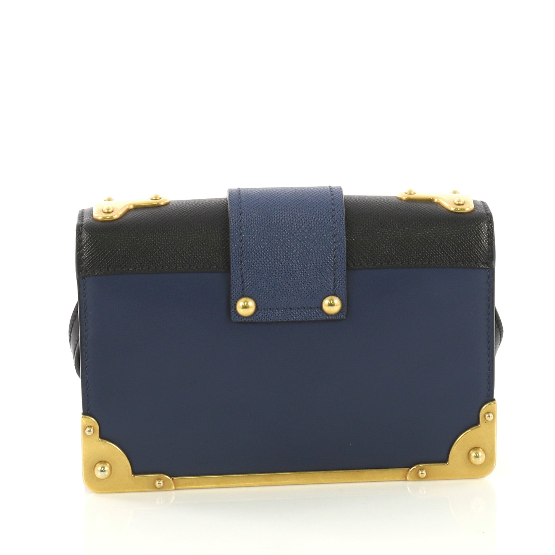 97078d5ad957b1 Prada Cahier Crossbody Bag Embellished Leather Small For Sale at 1stdibs
