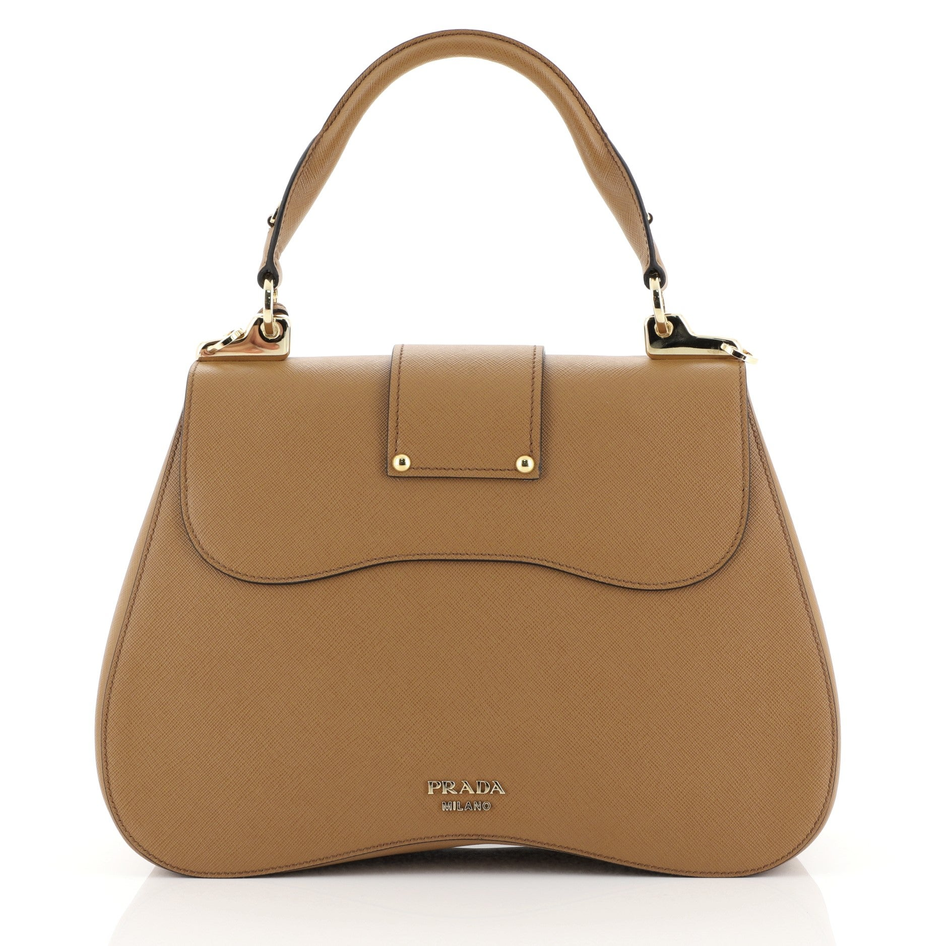 5e85ae0bf8 Prada Sidonie Top Handle Bag Saffiano Leather Large