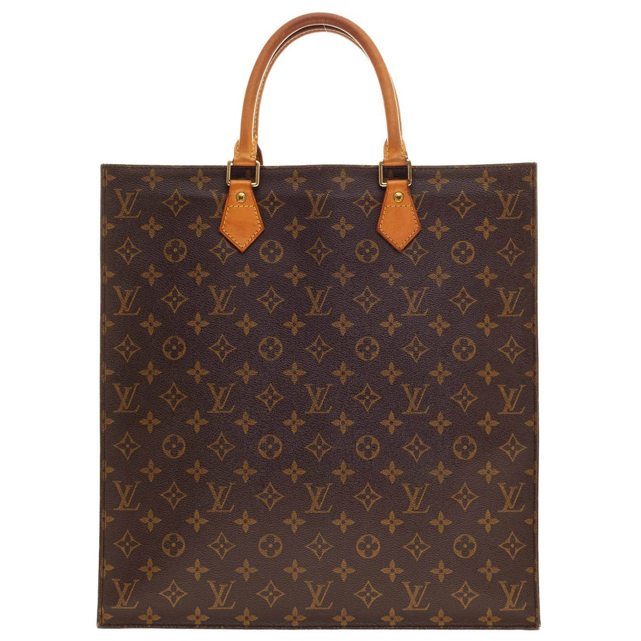 Louis vuitton sac plat monogram canvas gm at 1stdibs for Louis vuitton monogram miroir sac plat
