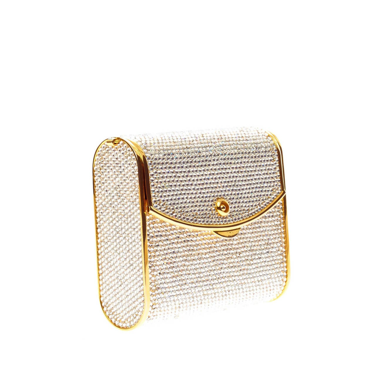 gold minaudiere eBay