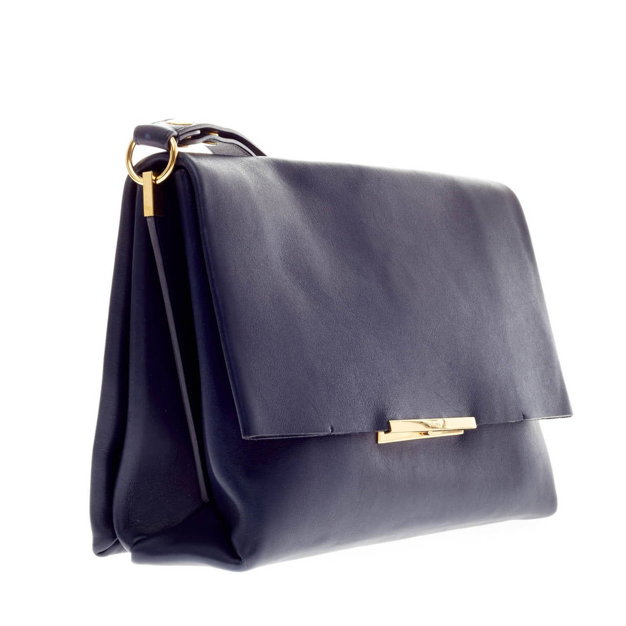Celine Blade Shoulder Bag Leather at 1stdibs