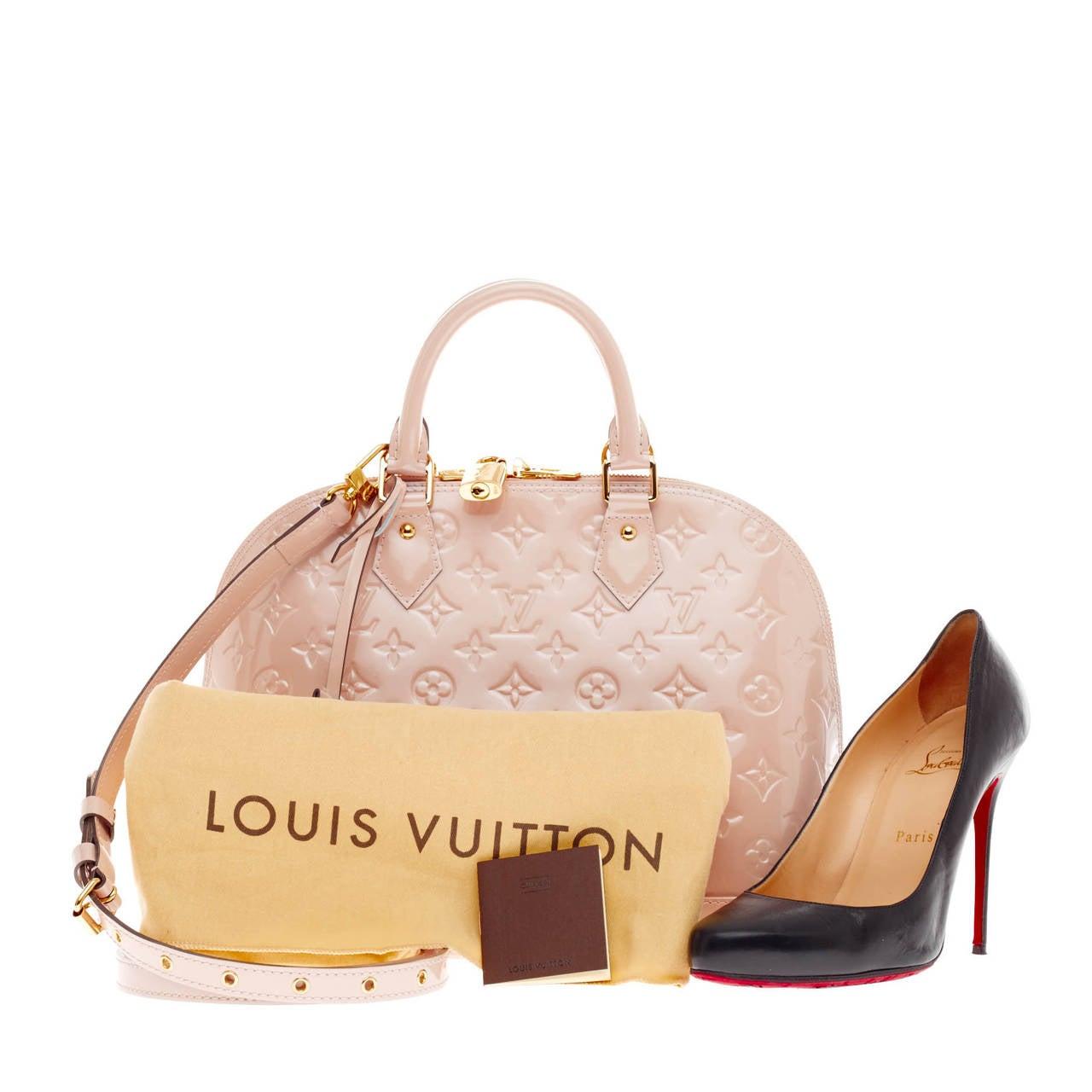 Louis Vuitton Alma Monogram Vernis PM 2