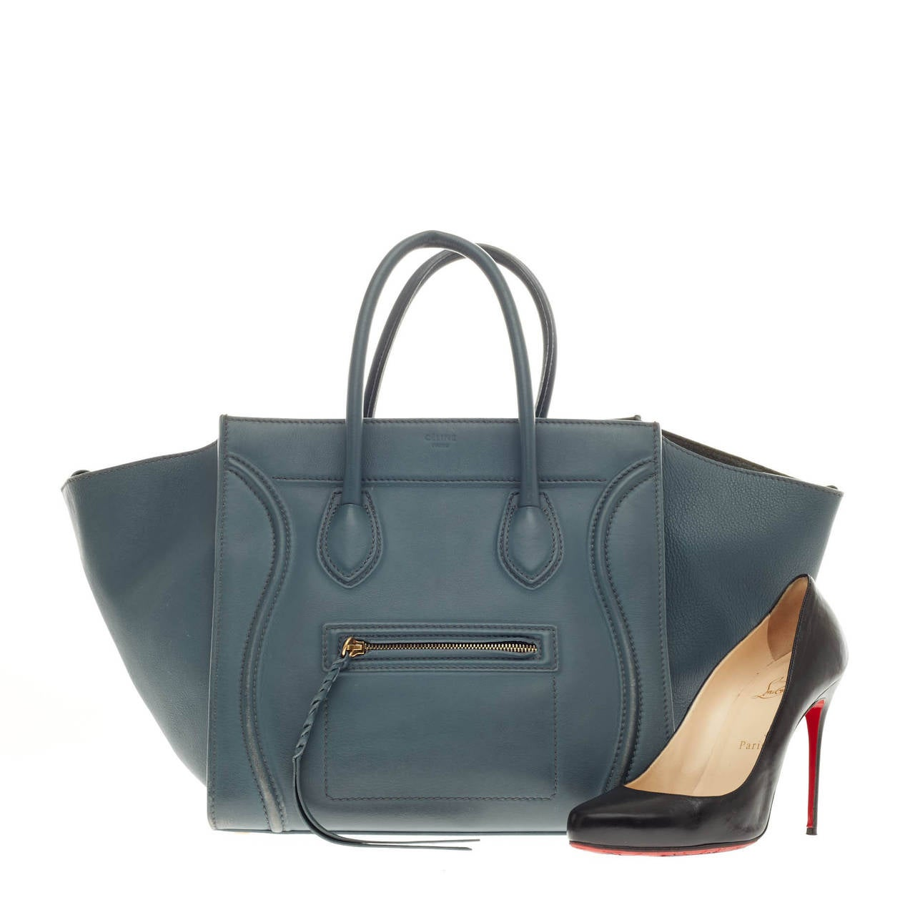 Celine Phantom Smooth Leather Large 2