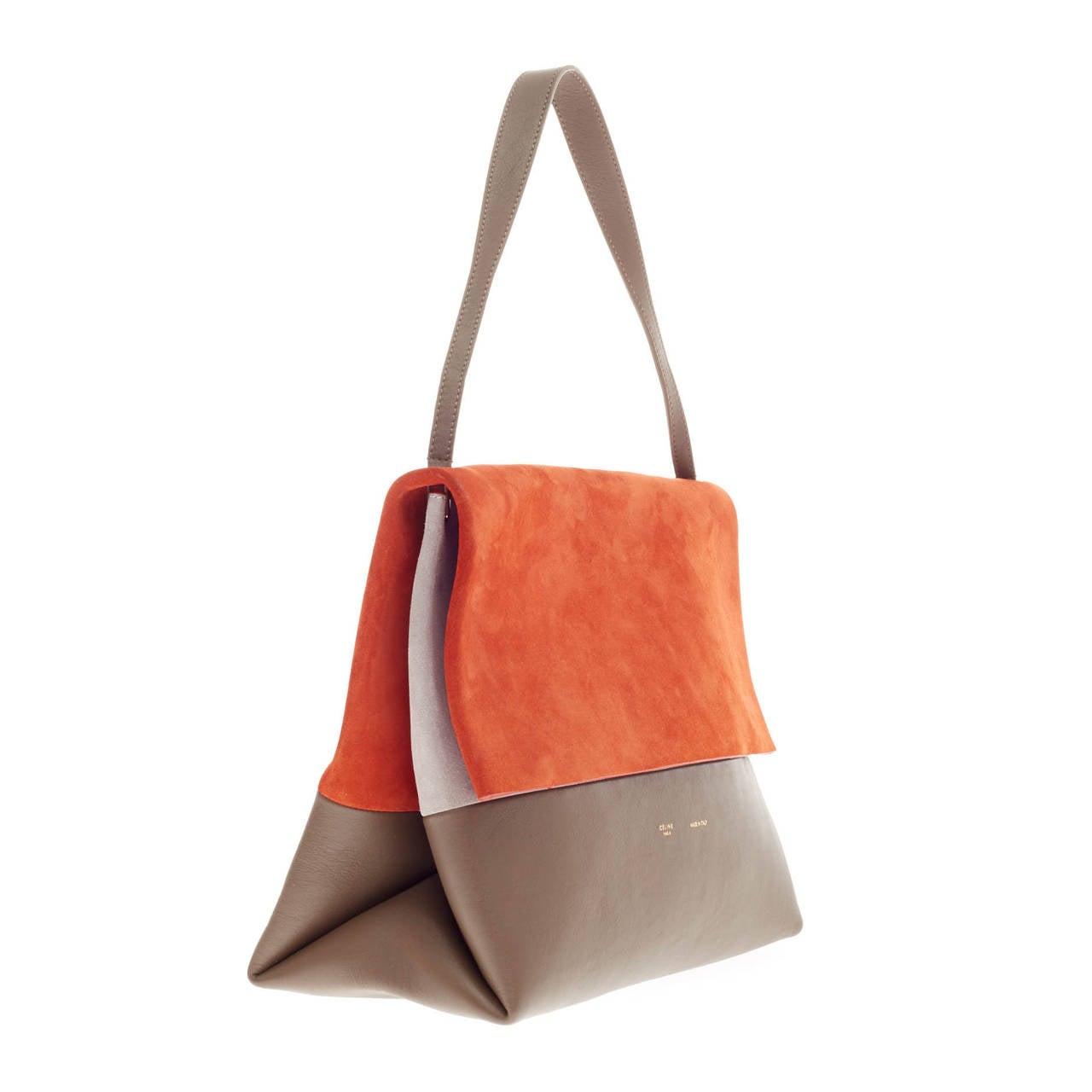 celine replica handbag - Celine All Soft Tote Suede at 1stdibs