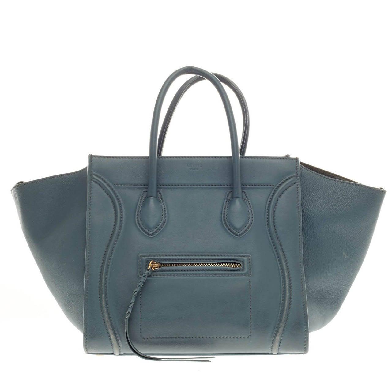 Celine Phantom Smooth Leather Large 1