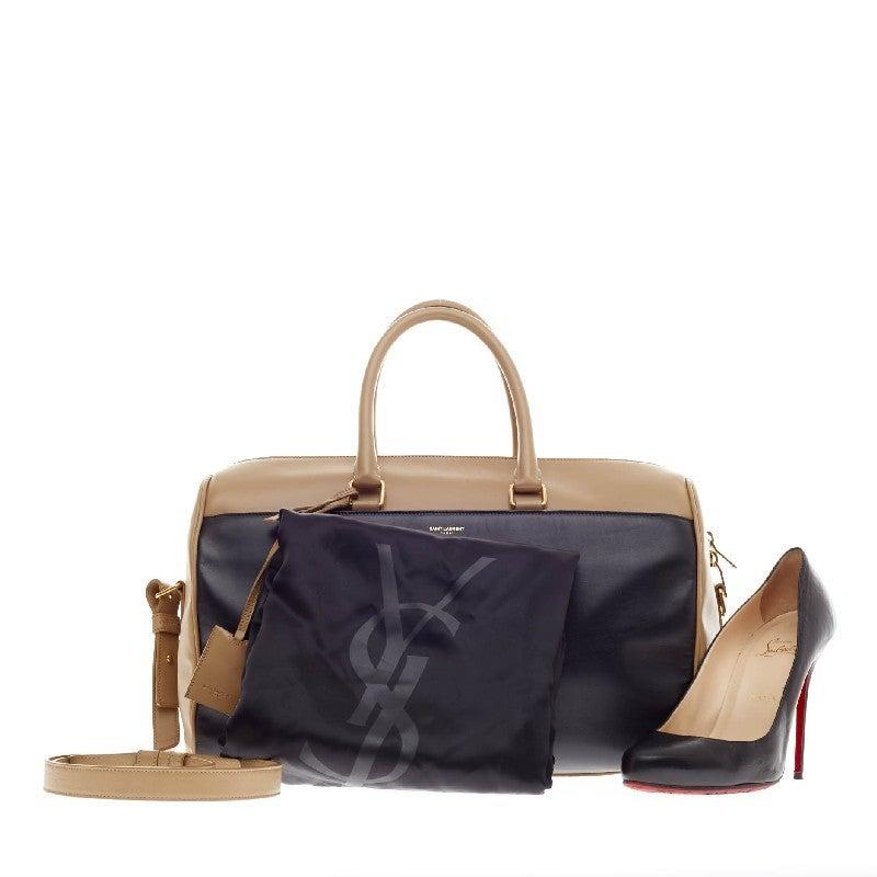Saint Laurent Classic Duffle Leather Medium 12 2
