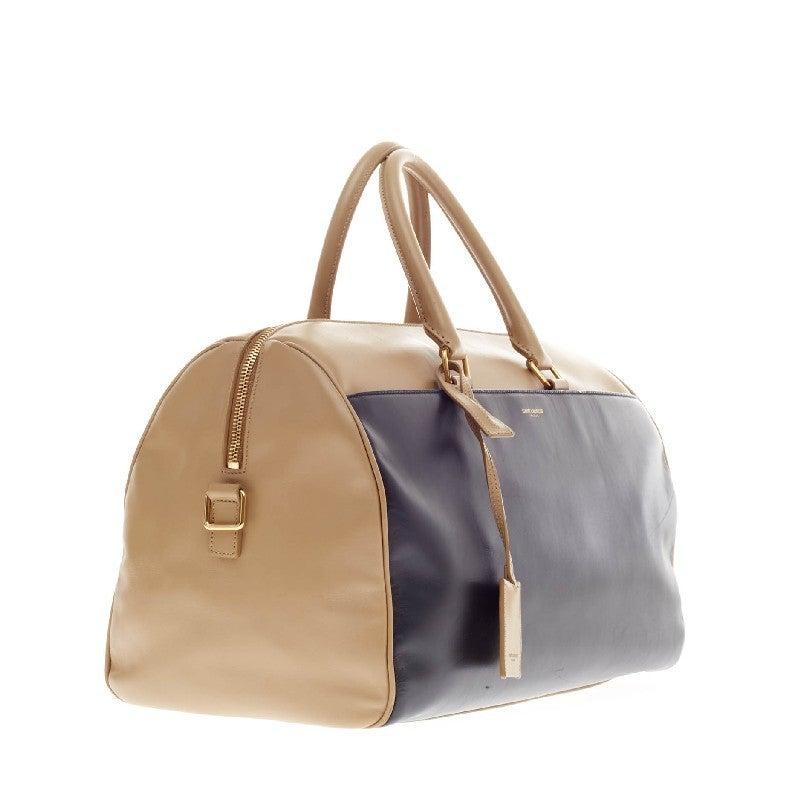 Saint Laurent Classic Duffle Leather Medium 12 3