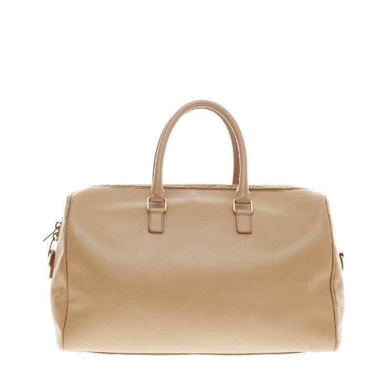 Saint Laurent Classic Duffle Leather Medium 12 4