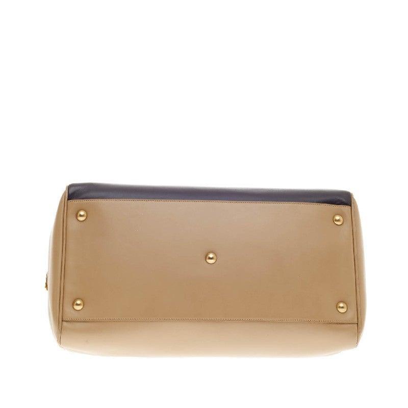 Saint Laurent Classic Duffle Leather Medium 12 5