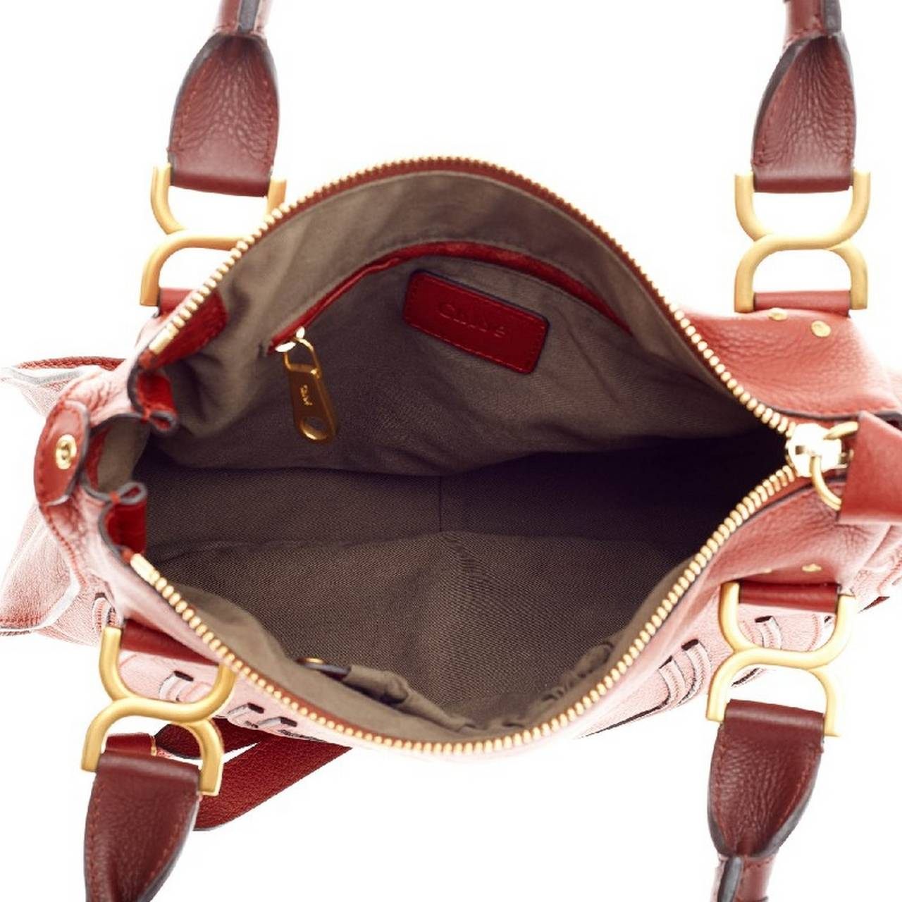Chloe Marcie Top Handle Bag Leather Small at 1stdibs