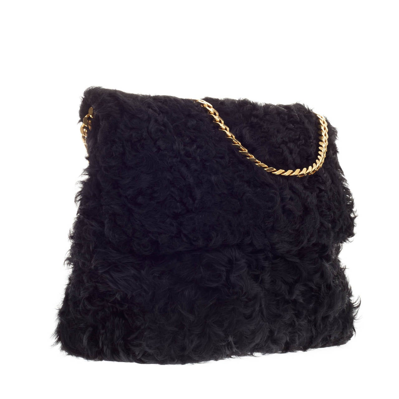 celine luggage tote mini - celine black fur handbag gourmette