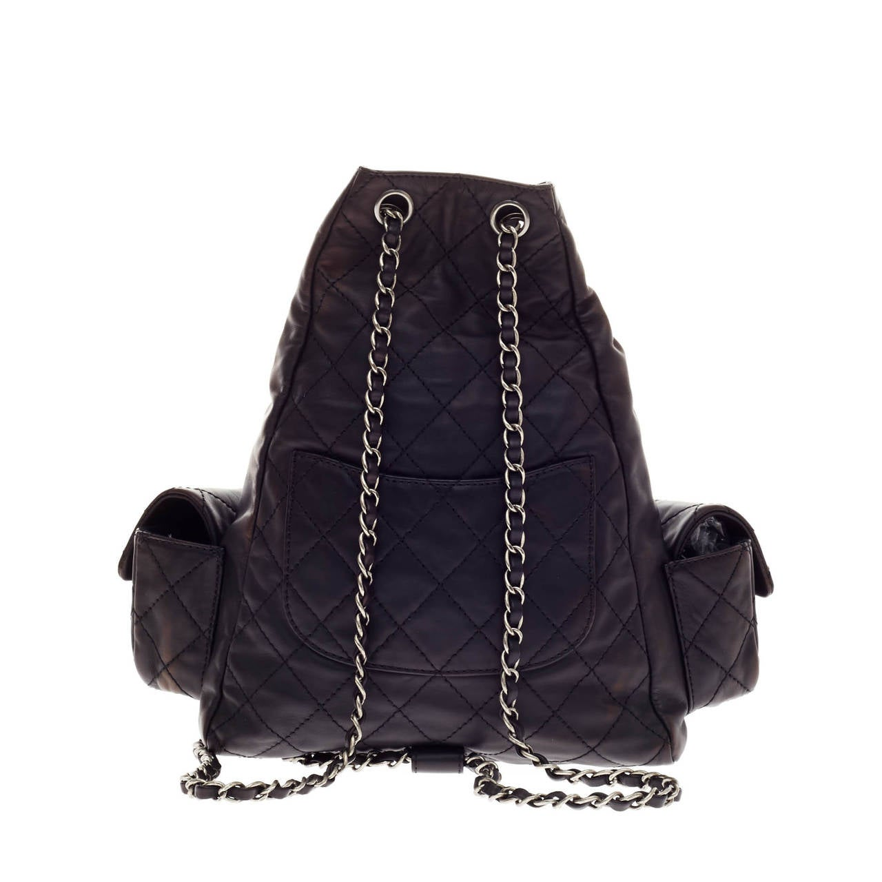 8bc33f020606 Women s Chanel Backpack Is Back Calfskin For Sale
