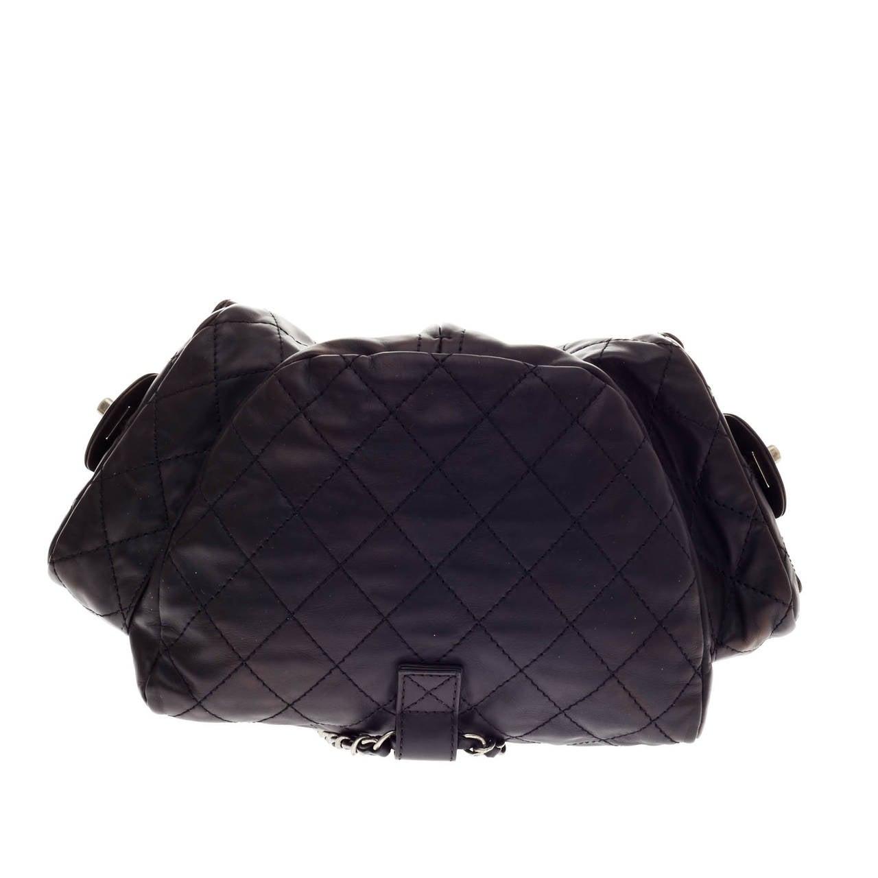 5b4afe842c9d Chanel Backpack Is Back Calfskin at 1stdibs