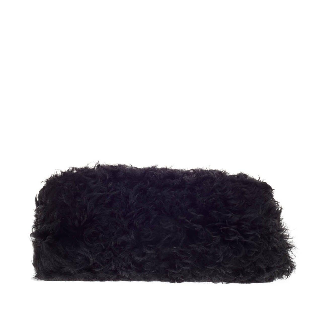 Celine Gourmette Shoulder Bag Fur at 1stdibs