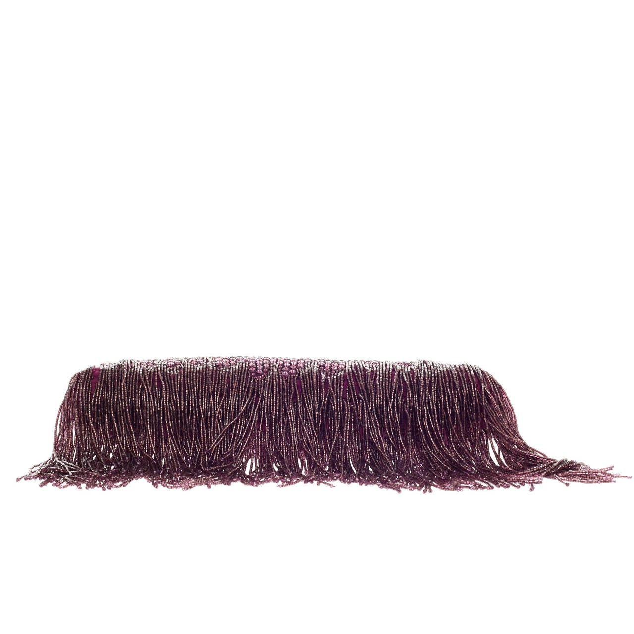 a7da05559ea5 Gucci Beaded Fringe Evening Bag Crystal with Dragon Head Closure For Sale 1