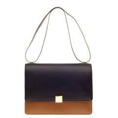 Celine Case Flap Bag Leather Large