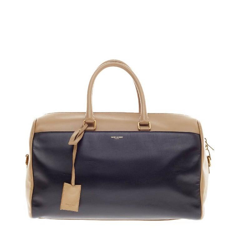 Saint Laurent Classic Duffle Leather Medium 12 1