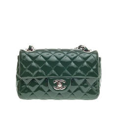 Chanel Classic Flap Patent Mini