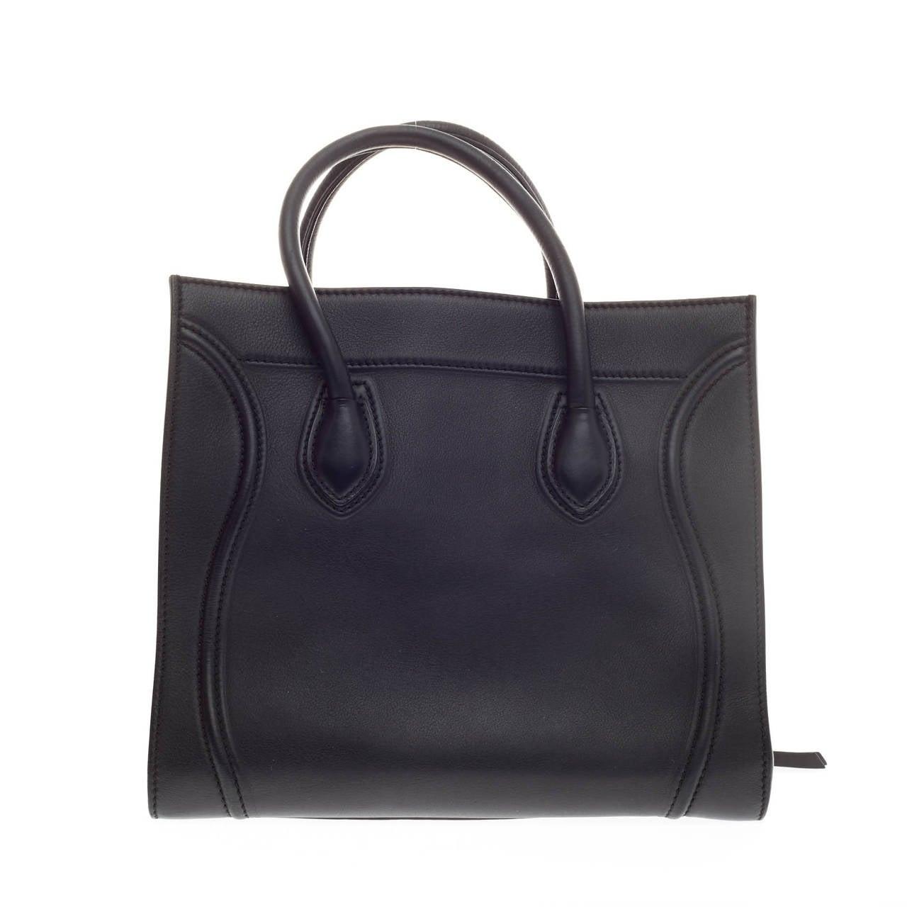 Celine Phantom Smooth Leather Medium at 1stdibs